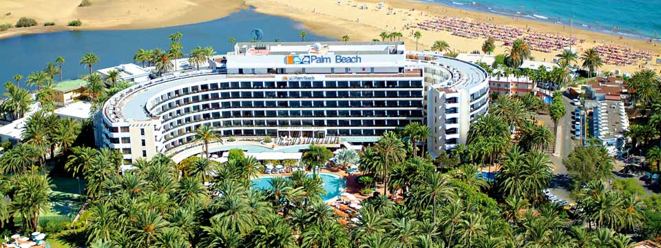 Lage des Seaside Palm Beach auf Gran Canaria