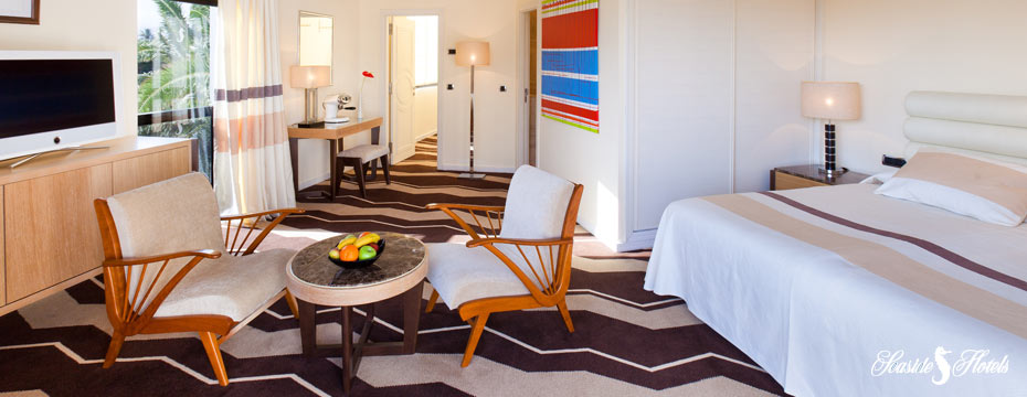 Rooms and suites features at Seaside Palm Beach Hotel in Gran Canaria