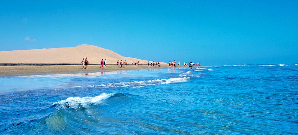 Dunas de la playa de Maspalomas