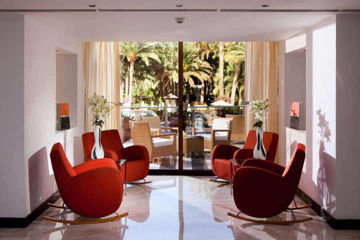 Experience the Seaside Palm beach's unique style created by renowned interior designer Alberto Pinto