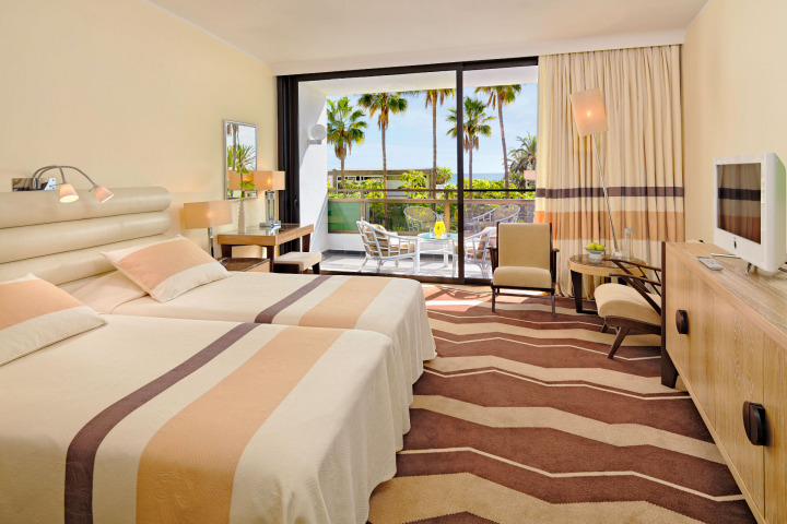 Find your perfect suite with a view at the Seaside Palm Beach, a design hotel in Maspalomas